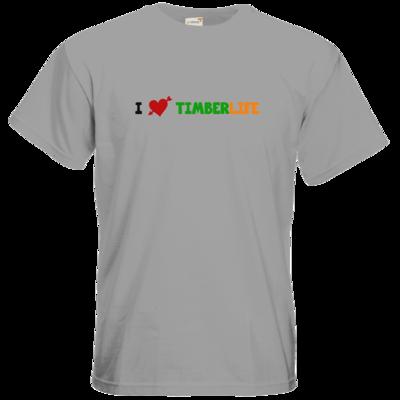 Motiv: T-Shirt Premium FAIR WEAR - I love TimberLife