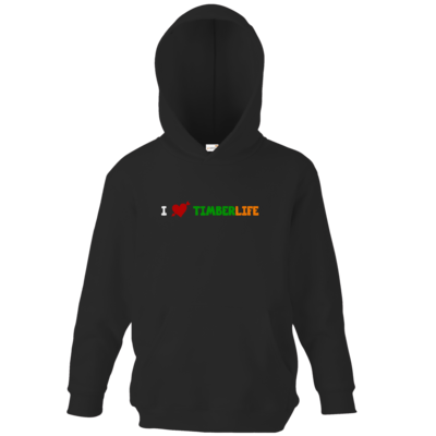 Motiv: Kids Hooded Sweat - I love TimberLife