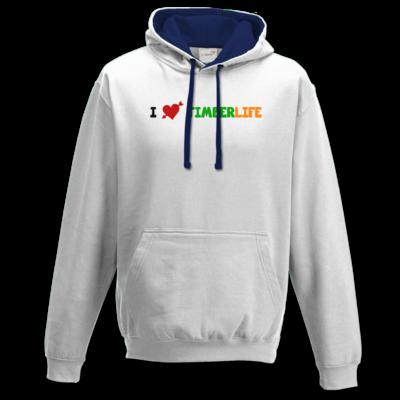 Motiv: Two-Tone Hoodie - I love TimberLife