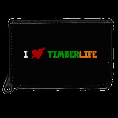 Motiv: Geldboerse - I love TimberLife