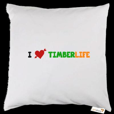 Motiv: Kissen - I love TimberLife
