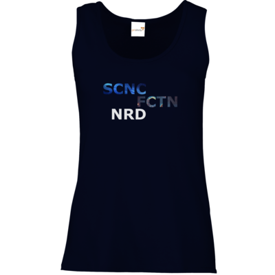 Motiv: Tank Top Damen Classic - Science Fiction Nerd | SCNC FCTN NRD