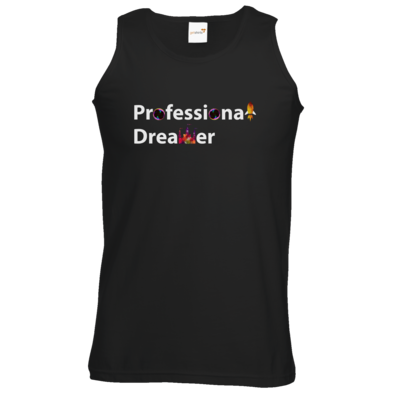 Motiv: Athletic Vest - Professional Dreamer