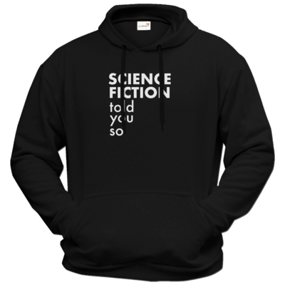 Motiv: Hoodie Premium FAIR WEAR - Science Fiction told you so