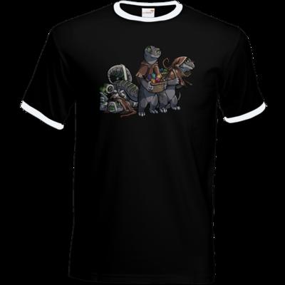 Motiv: T-Shirt Ringer - Ulisses - Lagerkobolde