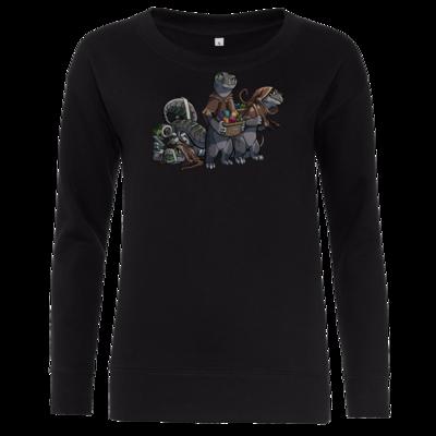 Motiv: Girlie Crew Sweatshirt - Ulisses - Lagerkobolde