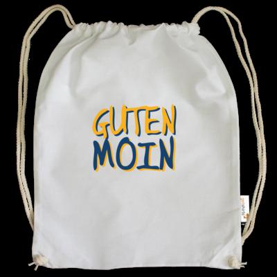 Motiv: Cotton Gymsac - Guten Moin