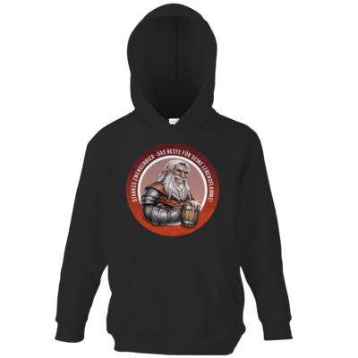 Motiv: Kids Hooded Sweat - Sprüche - Zwergenbier
