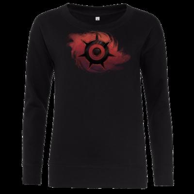 Motiv: Girlie Crew Sweatshirt - Götter und Dämonen - Dämonenkrone