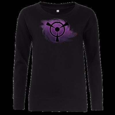 Motiv: Girlie Crew Sweatshirt - Götter und Dämonen - Namenloser