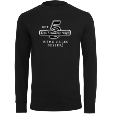 Motiv: Light Crew Sweatshirt - Sprüche - Mit DSA5 wird alles besser
