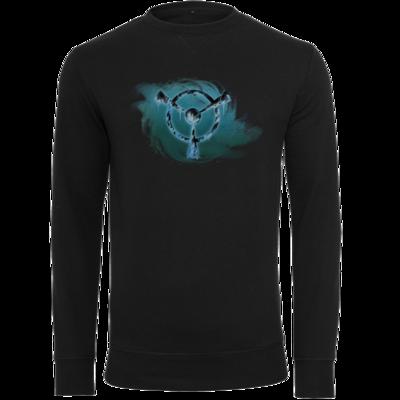 Motiv: Light Crew Sweatshirt - Götter und Dämonen - Namenloser Frost