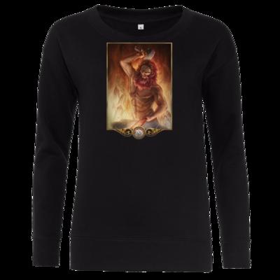 Motiv: Girlie Crew Sweatshirt - Götter - Ingerimm