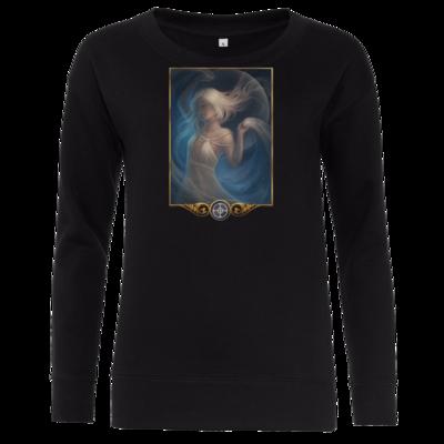 Motiv: Girlie Crew Sweatshirt - Götter - Mada