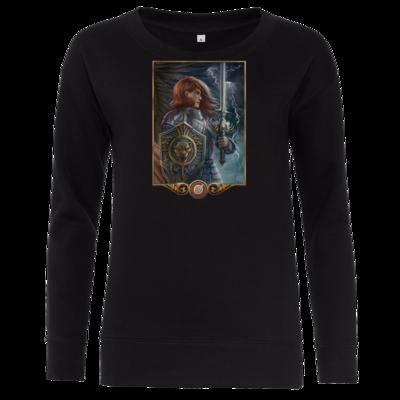 Motiv: Girlie Crew Sweatshirt - Götter - Rondra