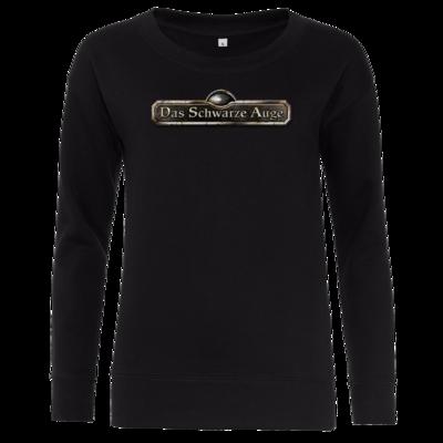 Motiv: Girlie Crew Sweatshirt - Logos - Schriftzug Das Schwarze Auge