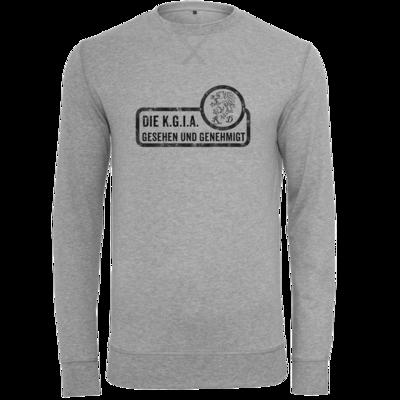 Motiv: Light Crew Sweatshirt - Sprüche - KGIA - Gesehen und genehmigt