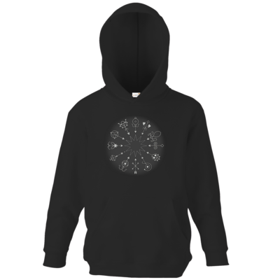 Motiv: Kids Hooded Sweat - Götter und Dämonen - Dämonenkreis