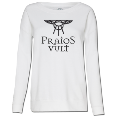 Motiv: Girlie Crew Sweatshirt - Sprüche - Götter - Praios Vult