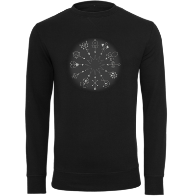 Motiv: Light Crew Sweatshirt - Götter und Dämonen - Dämonenkreis