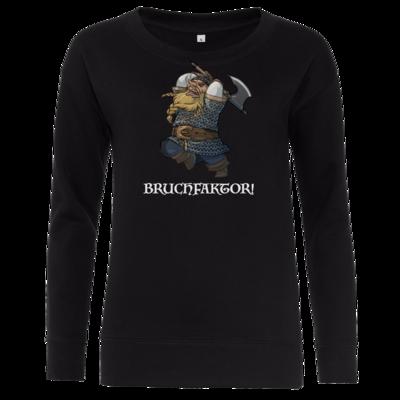 Motiv: Girlie Crew Sweatshirt - Let's Plays - Bokklawash Bruchfaktor - Chibi