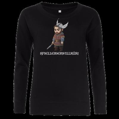 Motiv: Girlie Crew Sweatshirt - Let's Plays - Nubor Spielleiterwillkür - Chibi