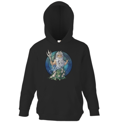 Motiv: Kids Hooded Sweat - Götter - Efferd - Chibi