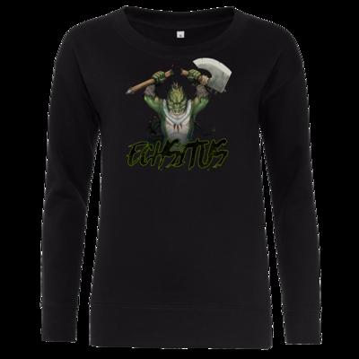 Motiv: Girlie Crew Sweatshirt - Let's Plays - Echsitus