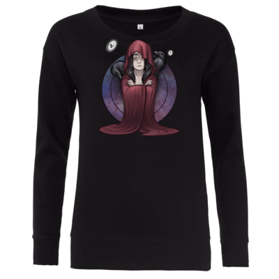 Motiv: Girlie Crew Sweatshirt - Götter - Boron - Chibi