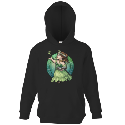 Motiv: Kids Hooded Sweat - Götter - Hesinde - Chibi