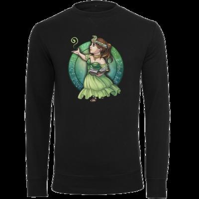 Motiv: Light Crew Sweatshirt - Götter - Hesinde - Chibi