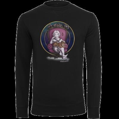 Motiv: Light Crew Sweatshirt - Götter und Dämonen - Namenloser - Chibi