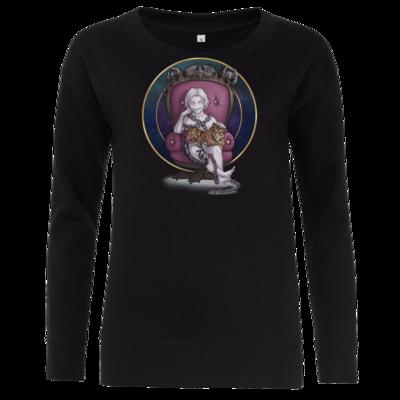 Motiv: Girlie Crew Sweatshirt - Götter und Dämonen - Namenloser - Chibi