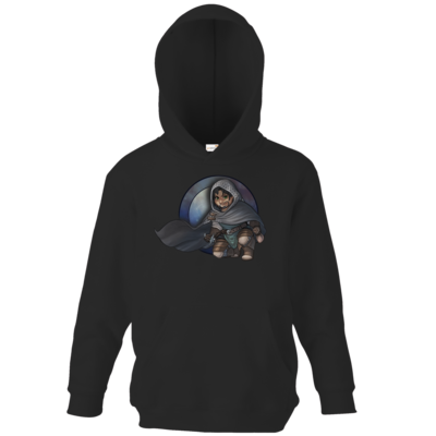Motiv: Kids Hooded Sweat - Götter - Phex - Chibi