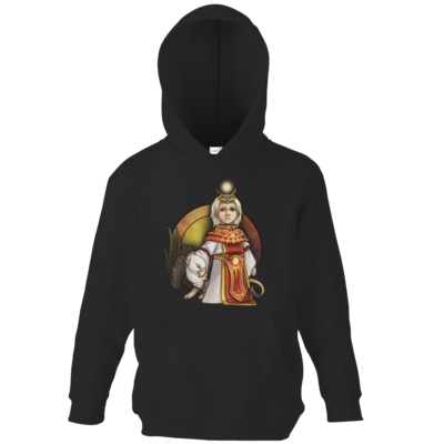 Motiv: Kids Hooded Sweat - Götter - Praios - Chibi