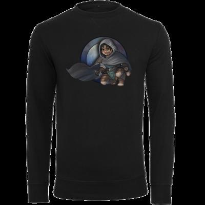 Motiv: Light Crew Sweatshirt - Götter - Phex - Chibi