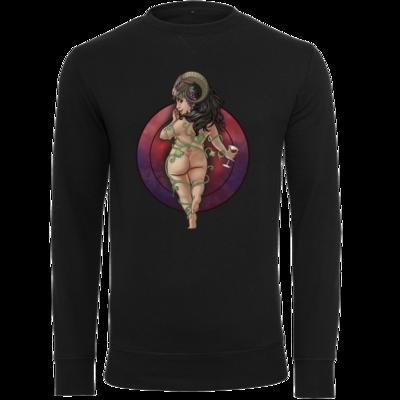 Motiv: Light Crew Sweatshirt - Götter - Rahja - Chibi
