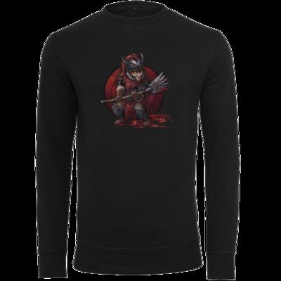 Motiv: Light Crew Sweatshirt - Götter - Kor - Chibi