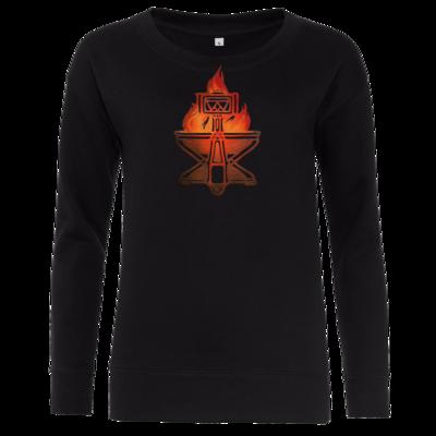 Motiv: Girlie Crew Sweatshirt - Götter - Ingerimm - Symbol