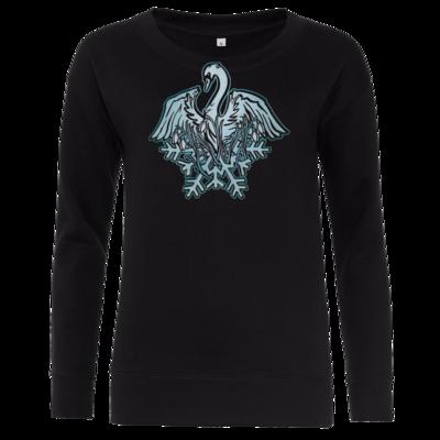 Motiv: Girlie Crew Sweatshirt - Götter - Ifirn - Symbol