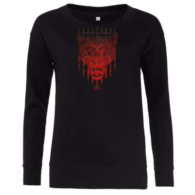 Motiv: Girlie Crew Sweatshirt - Götter - Kor - Symbol