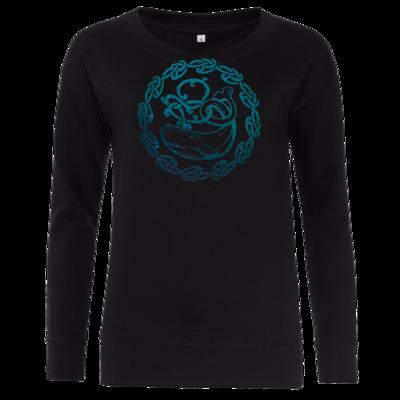 Motiv: Girlie Crew Sweatshirt - Götter - Swafnir - Symbol
