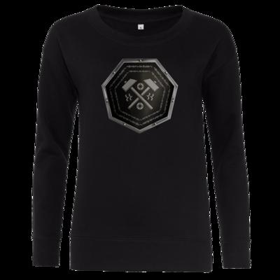 Motiv: Girlie Crew Sweatshirt - Wappen - Xorlosch