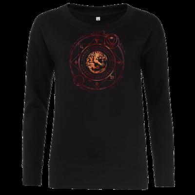 Motiv: Girlie Crew Sweatshirt - Dämonen - Pandämonium