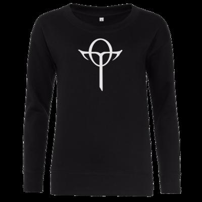 Motiv: Girlie Crew Sweatshirt - Götter Symbol - Rahja