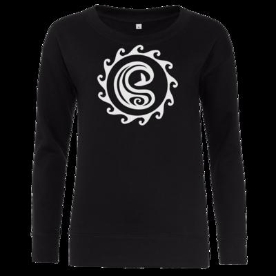 Motiv: Girlie Crew Sweatshirt - Götter Symbol - Swafnir