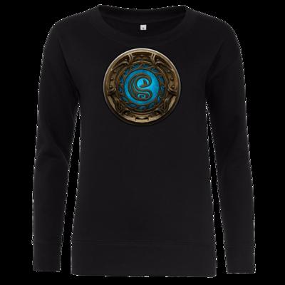 Motiv: Girlie Crew Sweatshirt - Götter Siegel - Swafnir