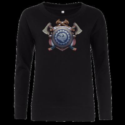 Motiv: Girlie Crew Sweatshirt - Wappen - Thorwal