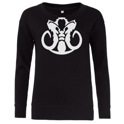 Motiv: Girlie Crew Sweatshirt - Götter Symbol - Natûru-Gon