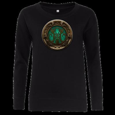 Motiv: Girlie Crew Sweatshirt - Götter Siegel - Natûru-Gon